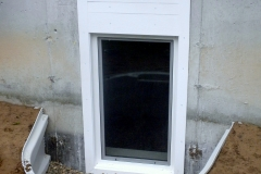 Casement In-swing gress Window Installed