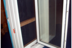 Casement in-swing <br> Egress Window - Fully Open