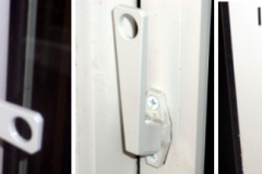 <center>casement style egress window latching system</center>