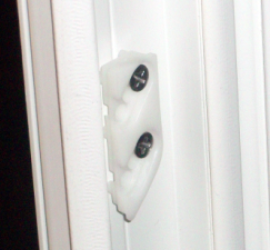 Compact Egress Window View of Frame Lock