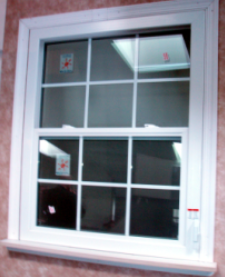 Compact Egress Window with Grids –Inside View