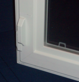 View of Latch in Closed Position
