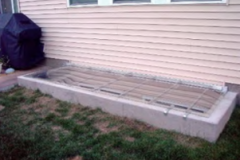Custom Large Split Egress Cover – Closed
