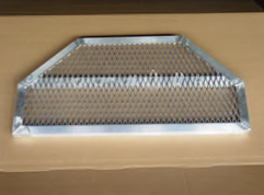 Hexagonal Custom Aluminum Grate