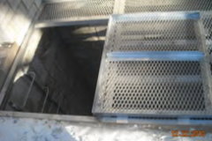 5-foot x 12- foot Custom Sized Aluminum escape hatch