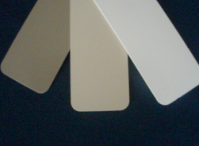Clay, Tan and White Color Samples