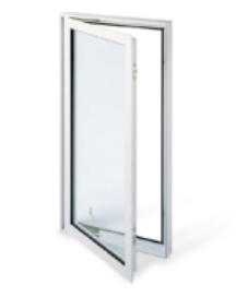 Casement Out Swing Egress Window Free Standing