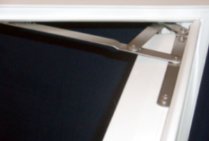 Compact Egress Window – Top Hinge