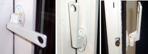 casement style egress window latching system