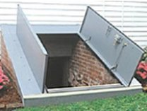 Basement Door - Bilco Classic Series Sloped well
