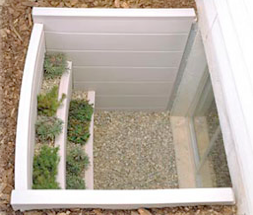 Egress Windows Wells Bilco Scapewel 174 Garden Step At