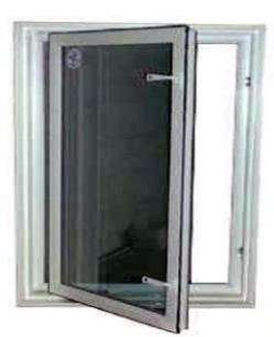 Casement In-swing Egress Window