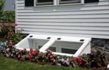 Custom egress window wells and covers