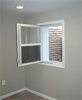 Egress windows compact single hung in swing windows at Egress window requirements for bedroom