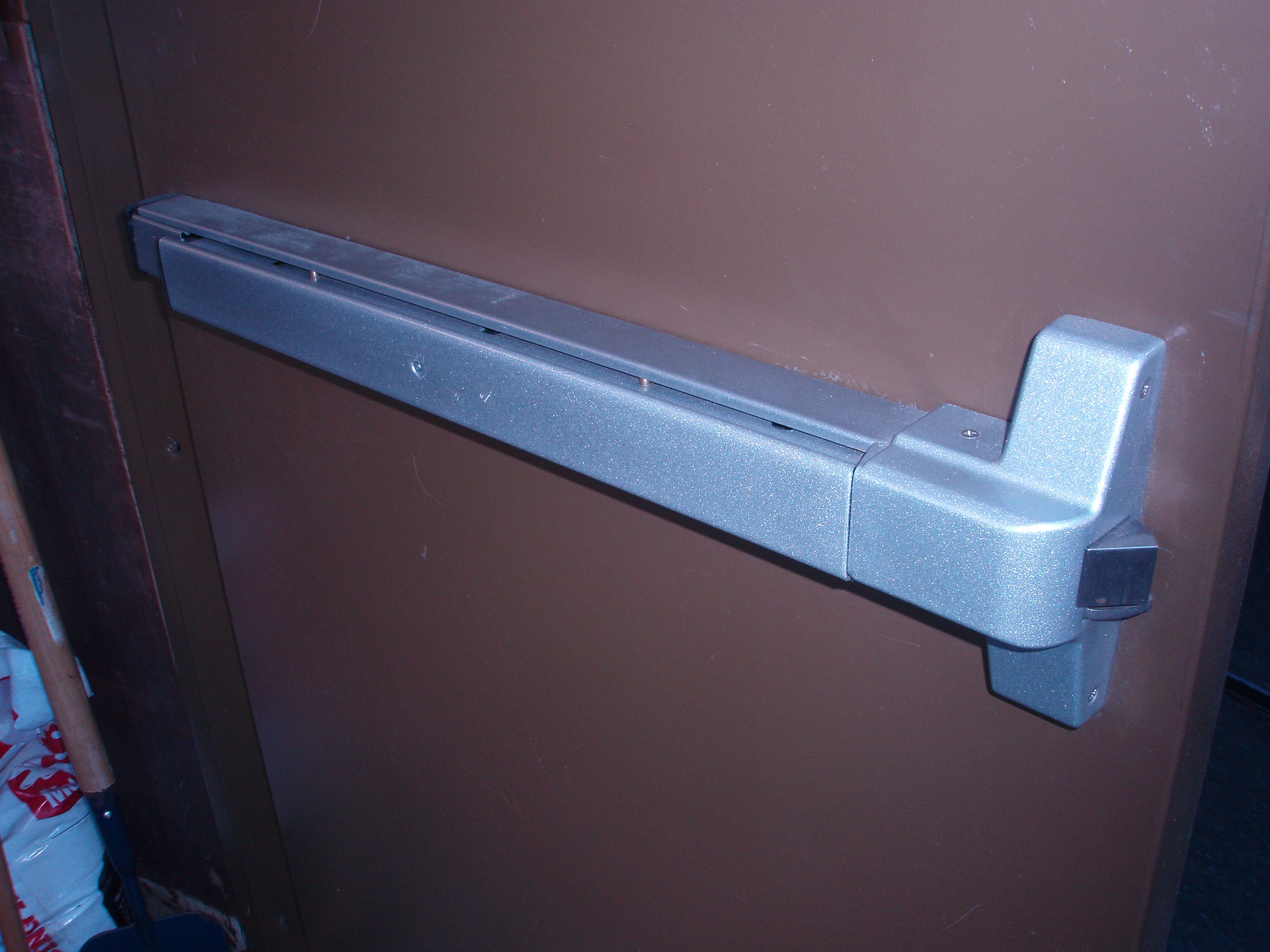 Panic Doors Panic Doors Push Paddle Cold Storage Doors Panic Bar Handle Positive Temperature