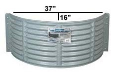 Standard Plastic Wells & Covers - Non-Egress Size