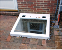 Deluxe Compact Series Hinged Egress Well Covers